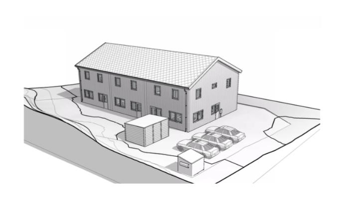 Bygglovsritningar Flerbostadshus - Täby