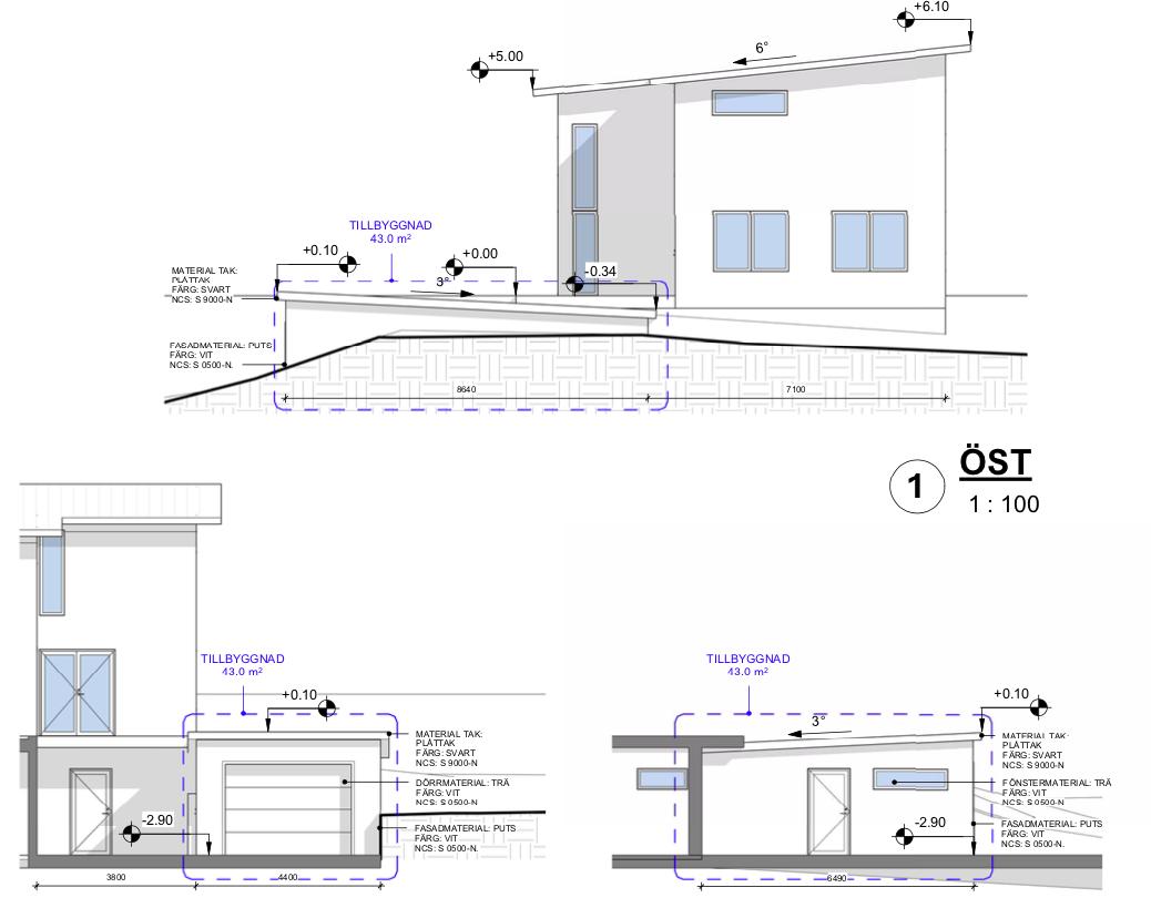 Bygglovsritningar Garage