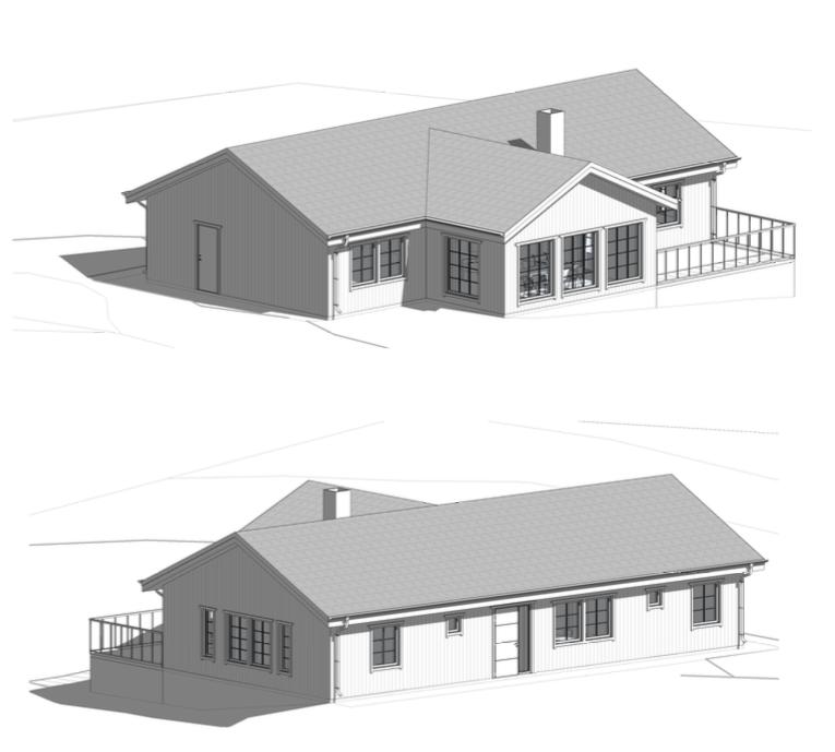 Bygglovsritningar Villa - Alingsås