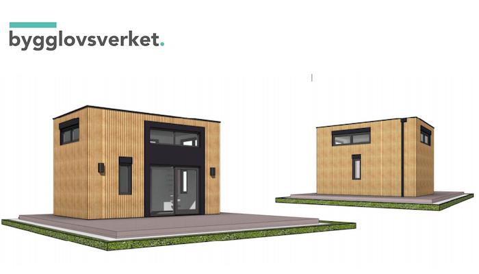 Bygglovsritning Attefallshus Nyköping