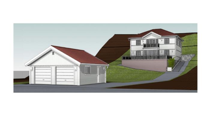 Bygglovsritningar Villa - Nacka